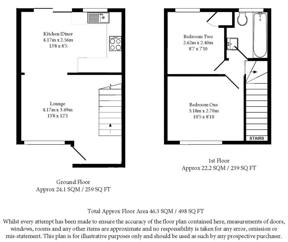 Audric Close, Kingston Floorplan
