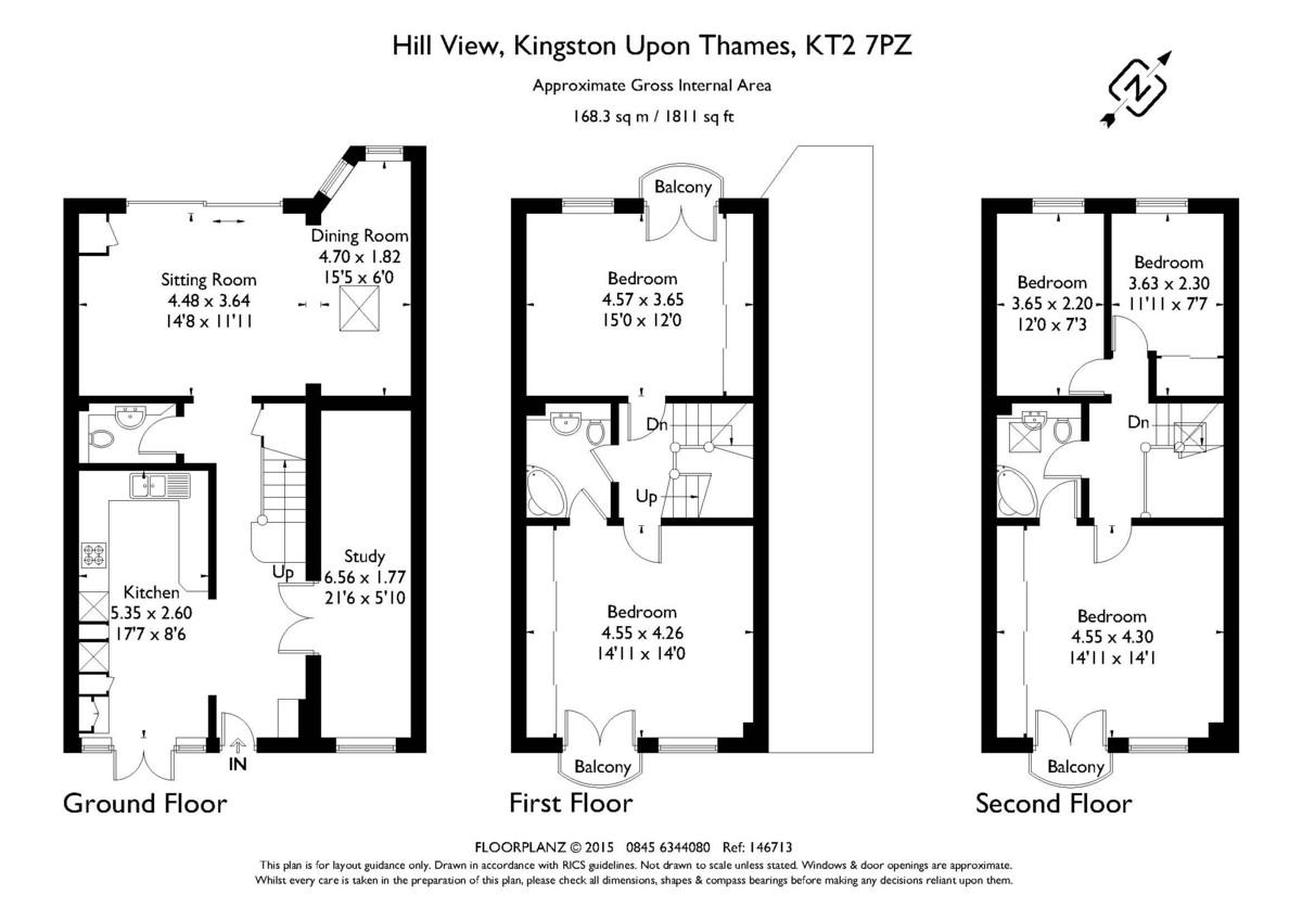 Hill View Floorplan