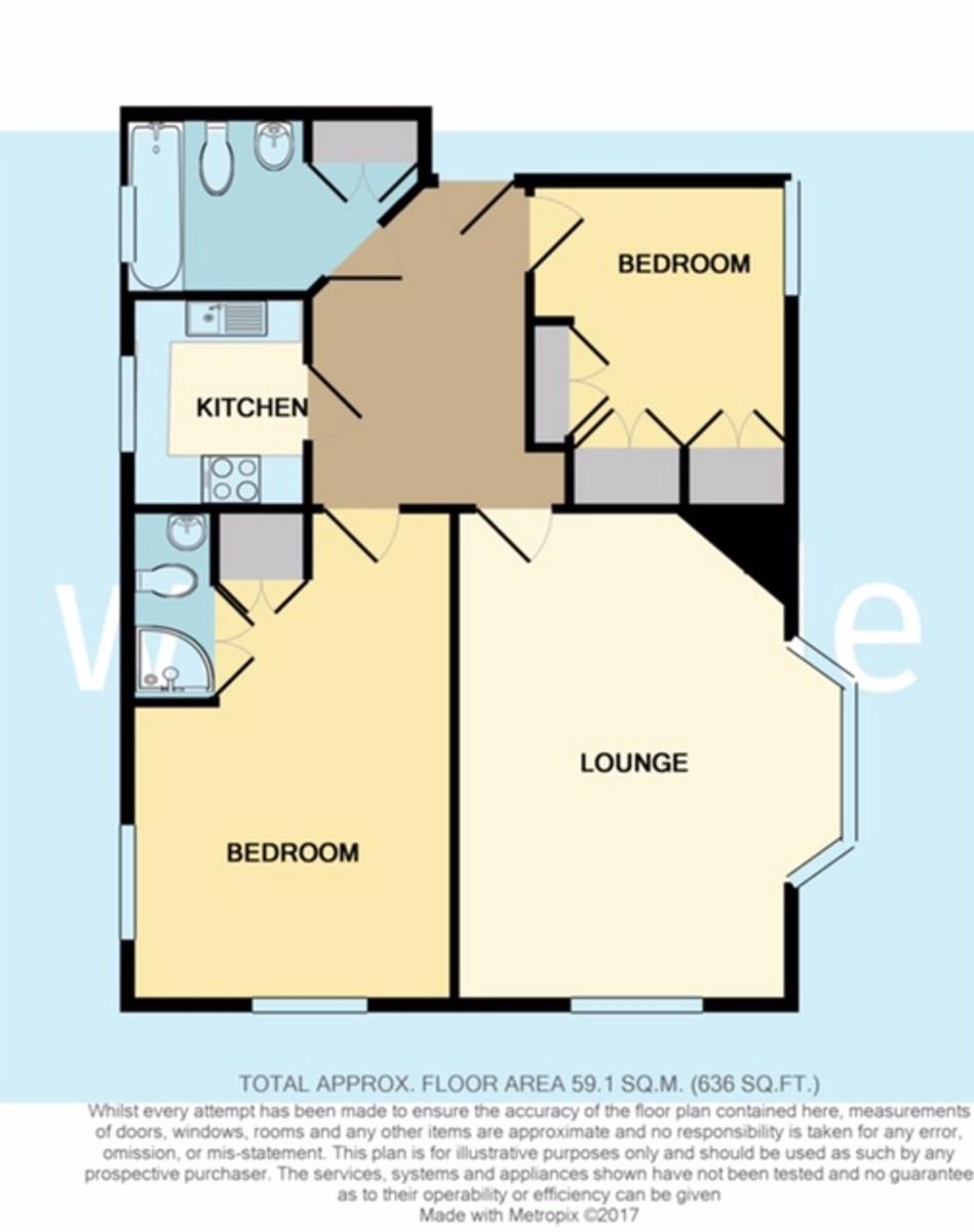 Stanhope Lodge, Cowes Floorplan