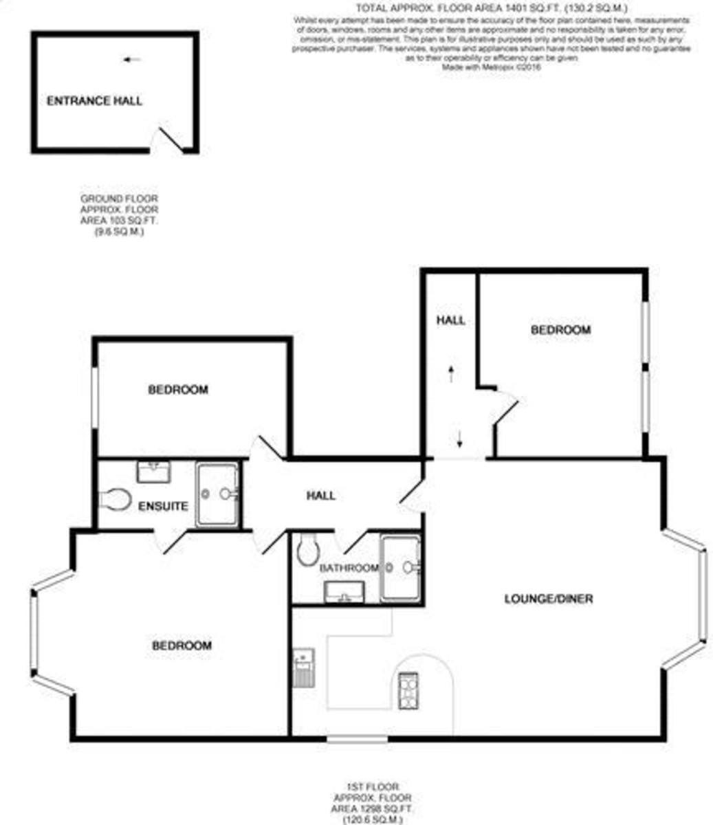 Thorness House, Cowes Floorplan