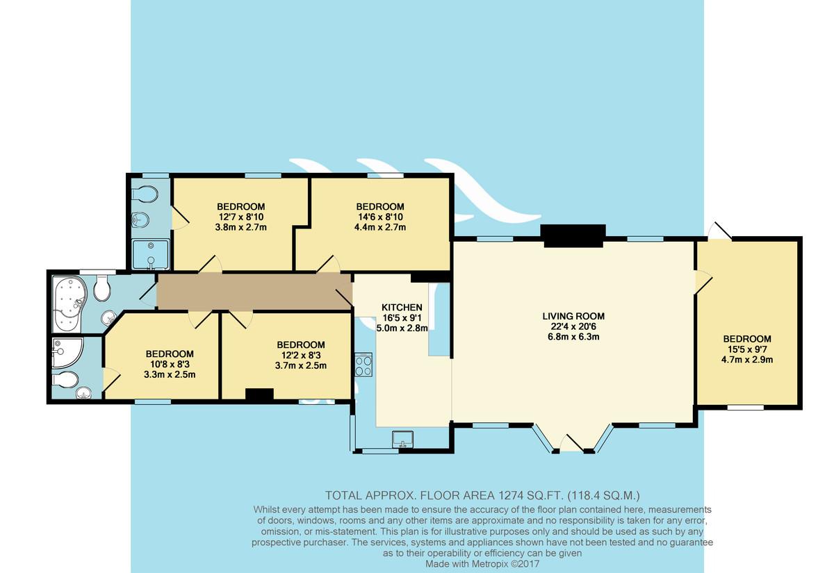 Headon Hall Cottages, Isle Of Wight Floorplan