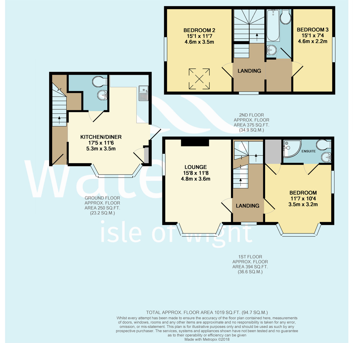 Tennyson Road, Isle Of Wight Floorplan