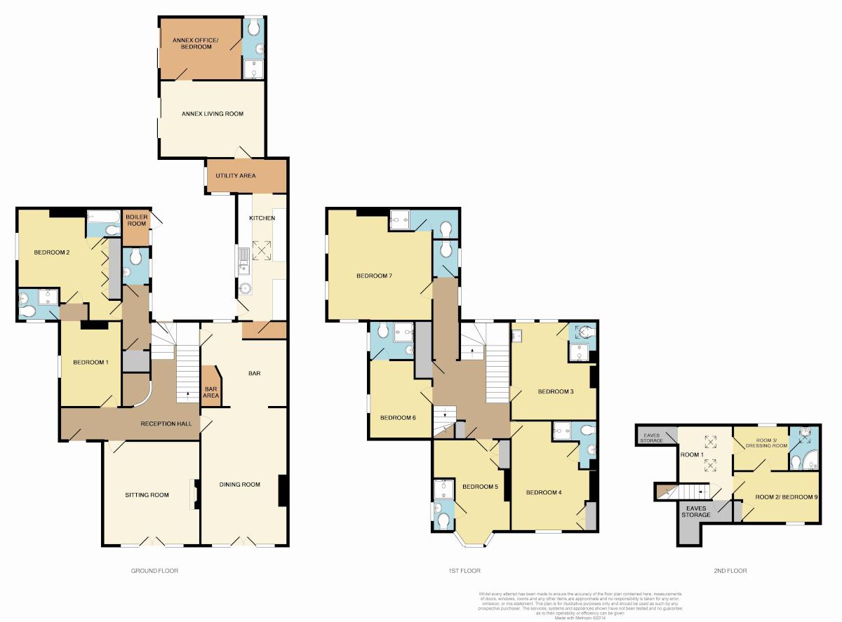 Latton House, Totland Bay, Isle of Wight, PO39 0BJ Floorplan
