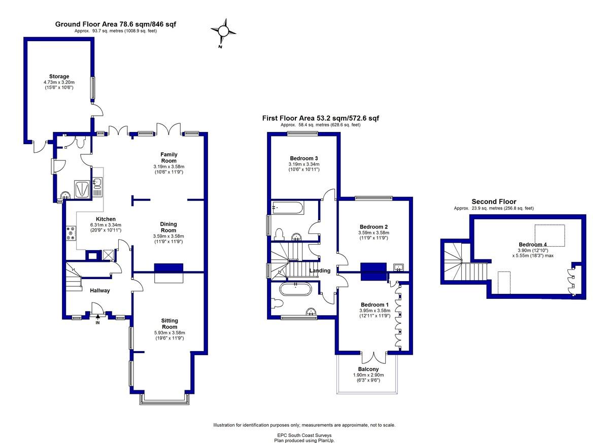 Argyle Road, Mudeford, Christchurch, Dorset, BH23 3NW Floorplan
