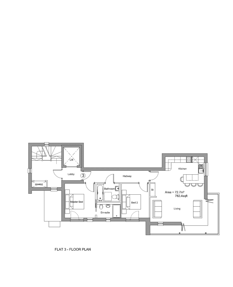 Needles Point, 18 St Catherine's Rd, Southbourne, Dorset, BH6 4AA Floorplan