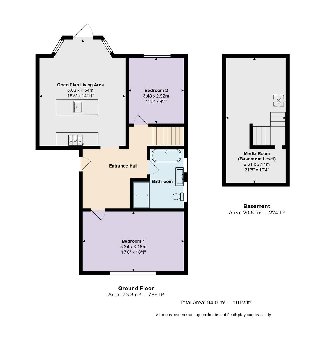 Channel Court, 37 Belle Vue Road, Southbourne, Dorset, BH6 3DE Floorplan