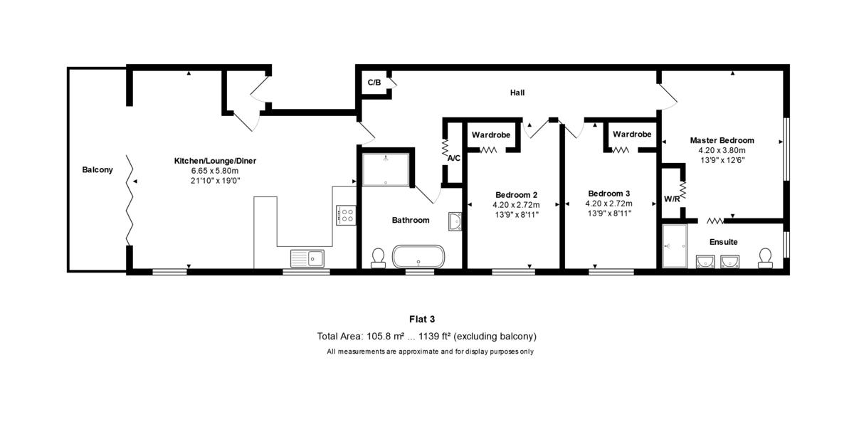 Seapointe, 20 Woodland Avenue, Southbourne, Dorset, BH5 2DJ Floorplan