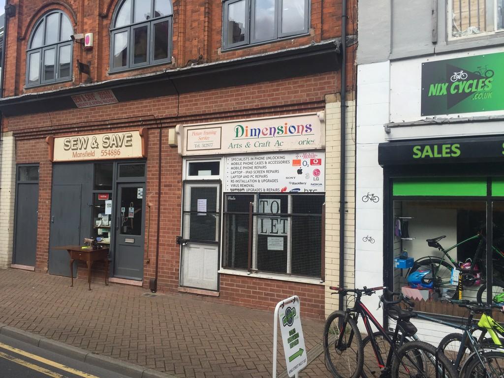 Retail Unit - Sutton in Ashfield