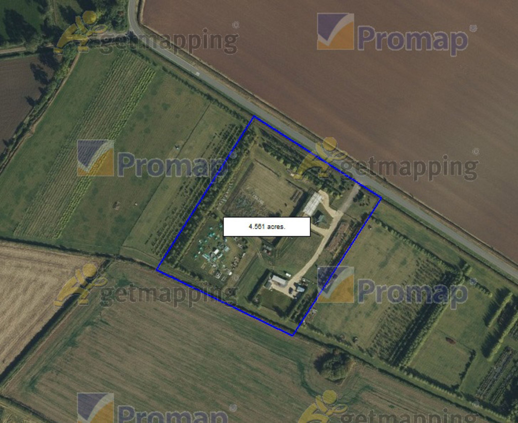 4.56 Acre Rabbit Farm with Planning for Detached House