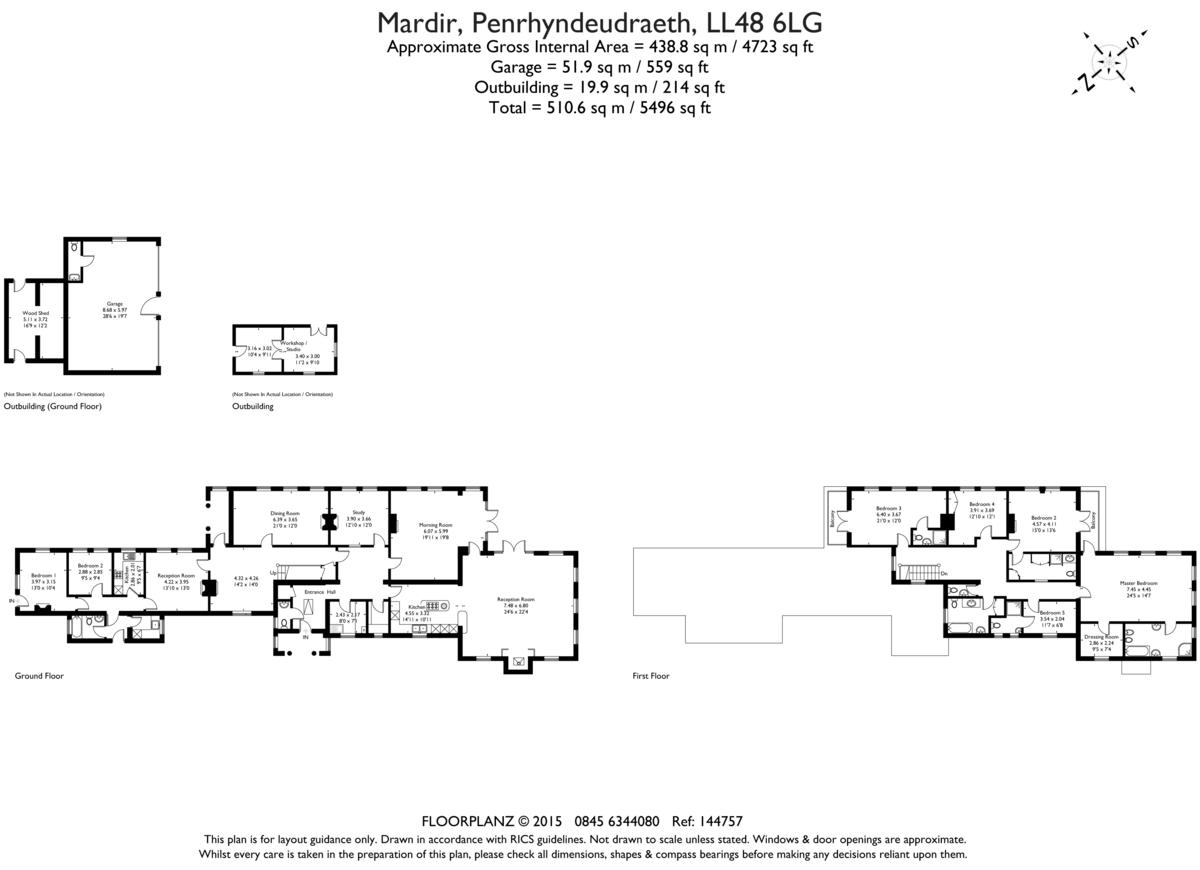 Penrhyndeudraeth, North Wales Floorplan