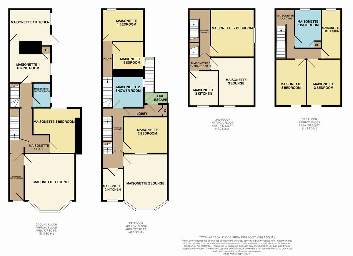Marine Terrace, Criccieth, North Wales Floorplan