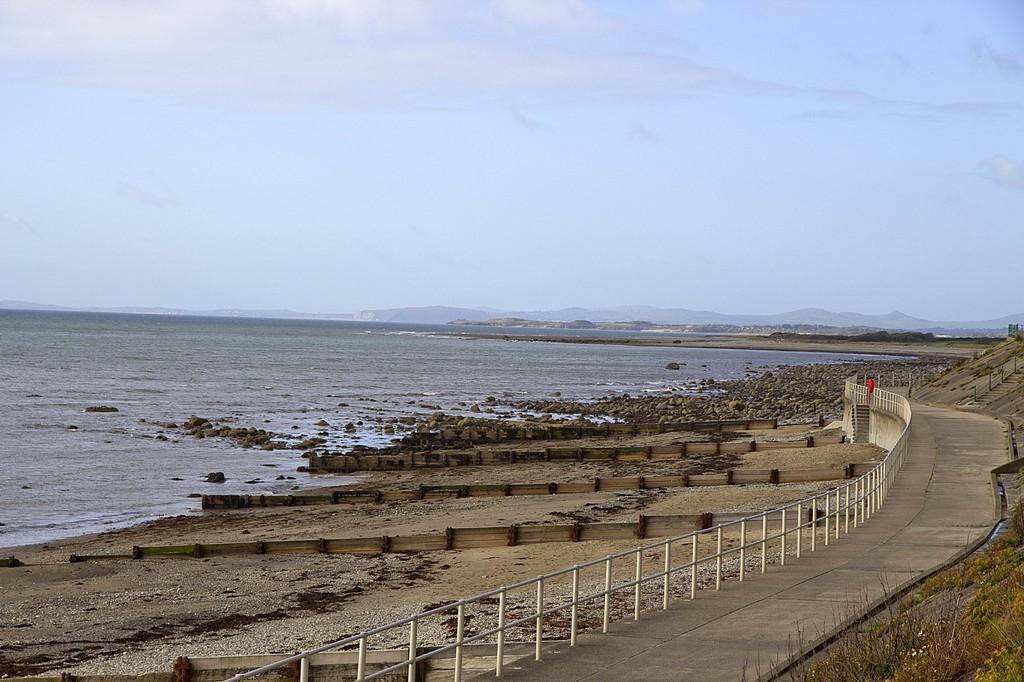 Marine Terrace, Criccieth, North Wales