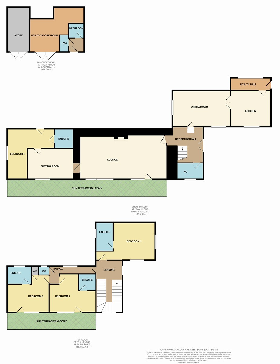 Llandegfan, Menai Bridge, Isle of Anglesey Floorplan