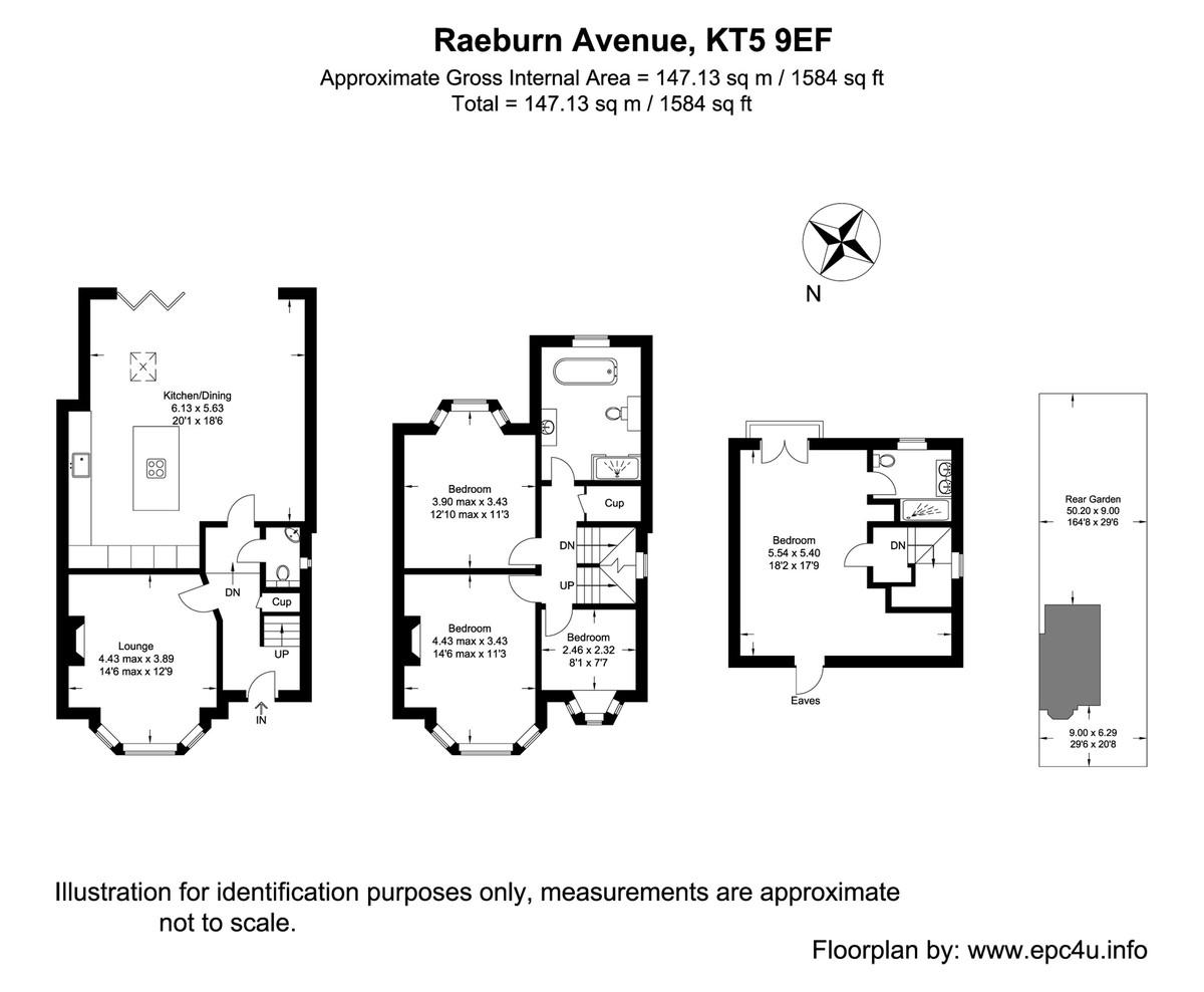 Raeburn Avenue, Surbiton Floorplan