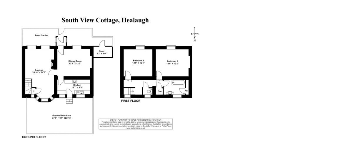 South View, Healaugh Floorplan