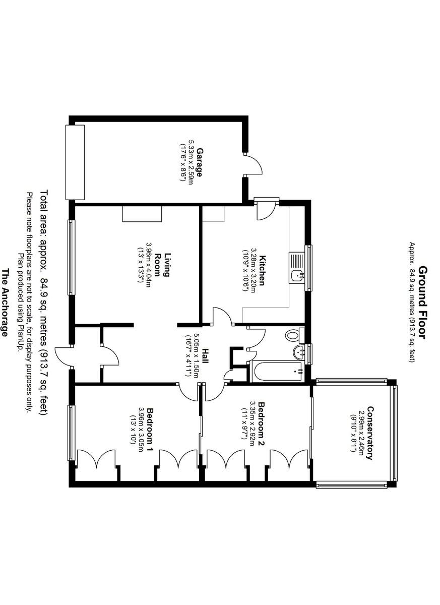 The Anchorage, Austwick Floorplan