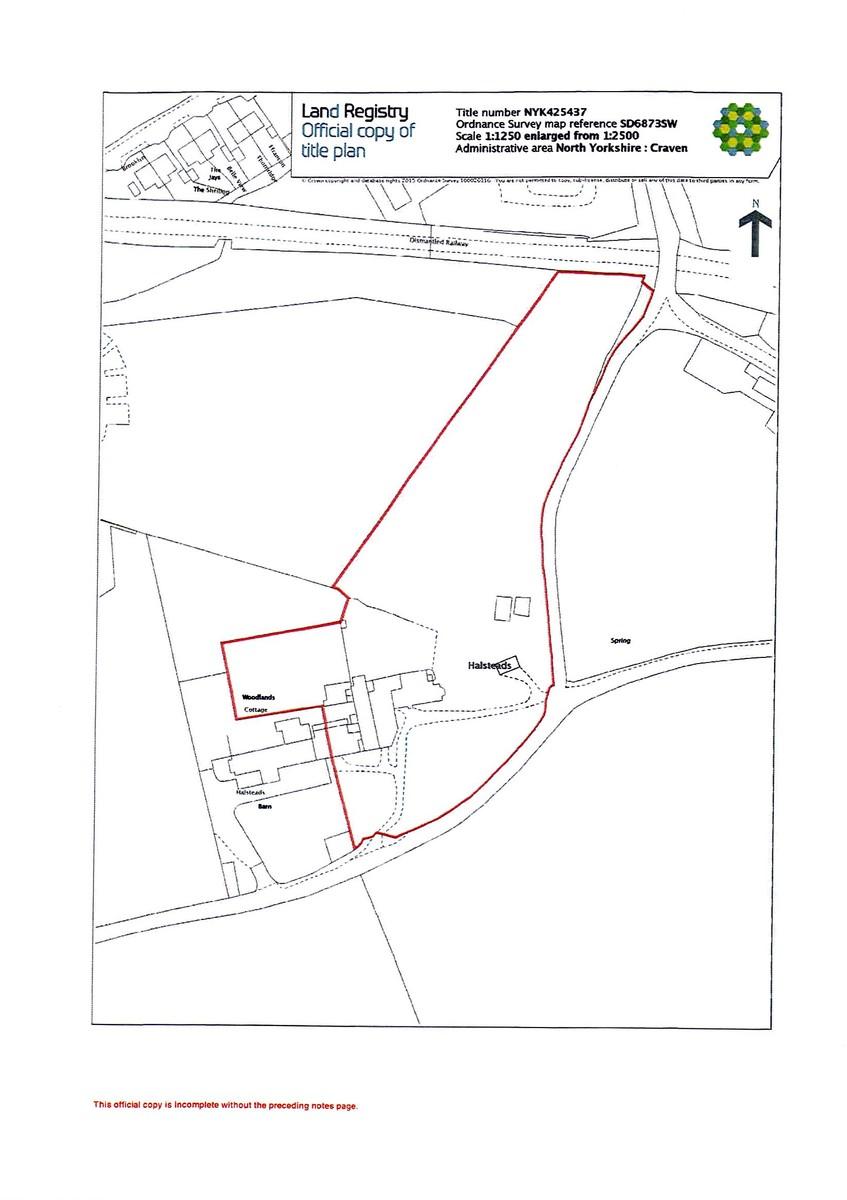 Halsteads, Thornton In Lonsdale  Floorplan
