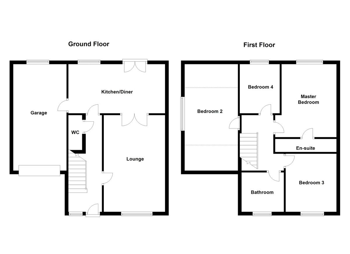 Manor Close, Burton In Lonsdale Floorplan