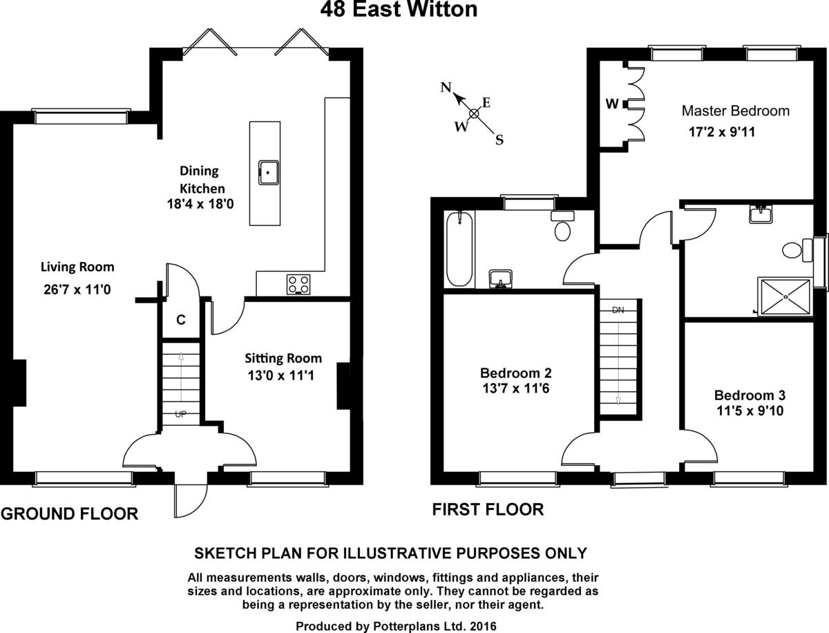 48 East Witton, East Witton Floorplan