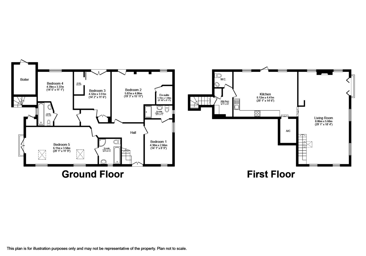 Hellgill Howe, Hartley Floorplan