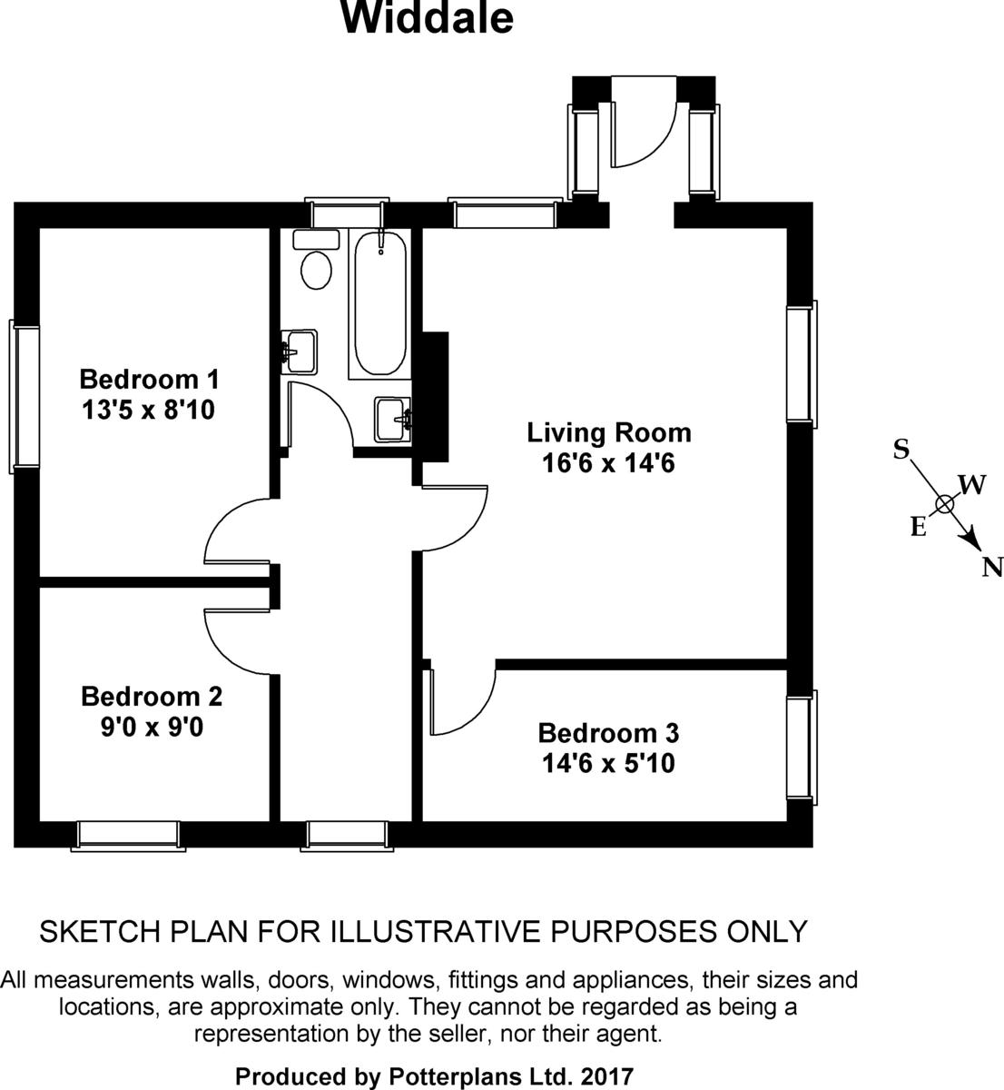 Gaudy House Farm Floorplan