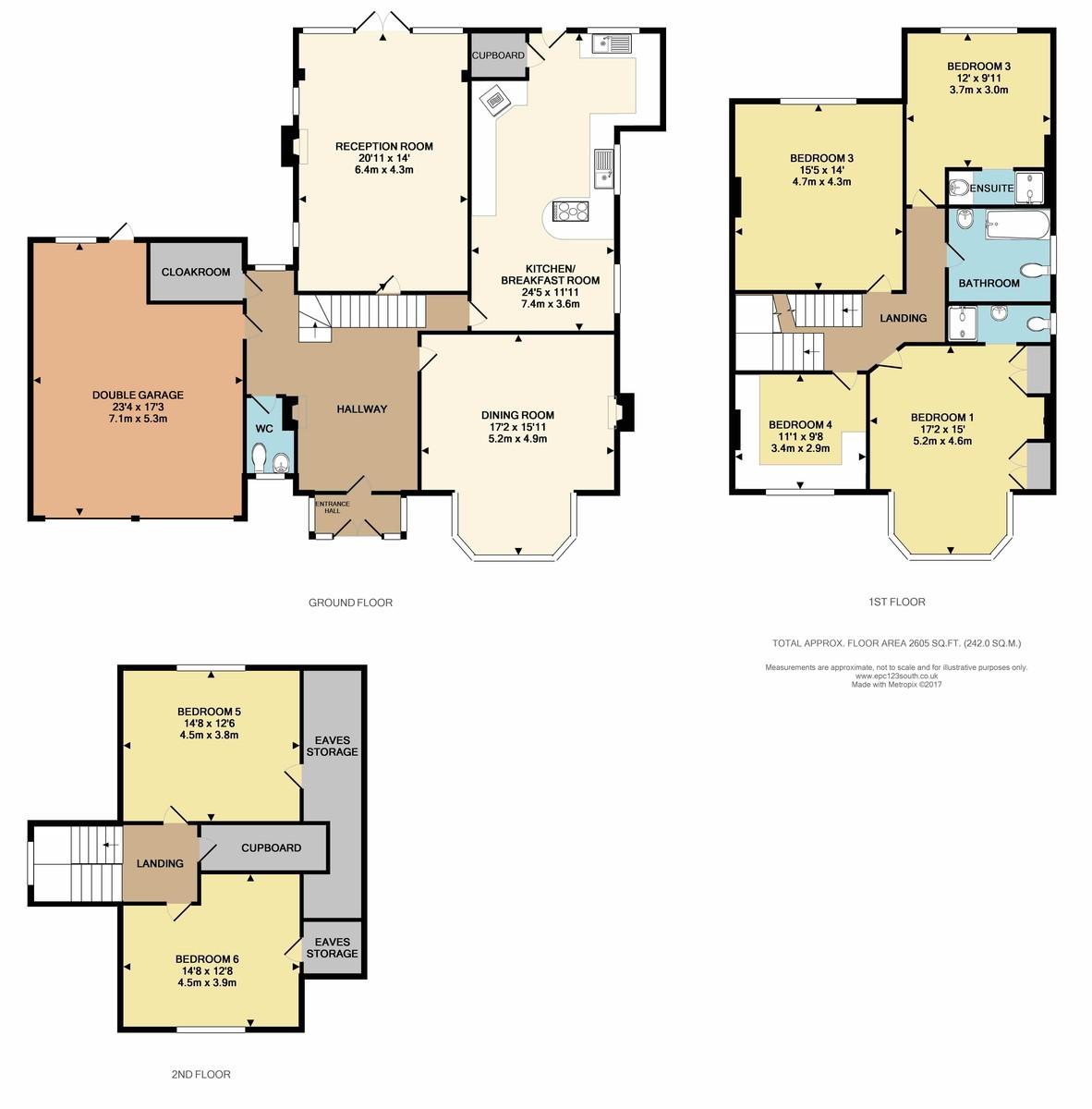 WEST PURLEY Floorplan