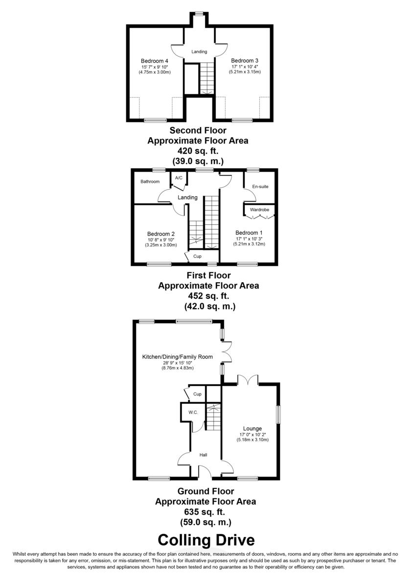 Colling Drive, Lichfield Floorplan