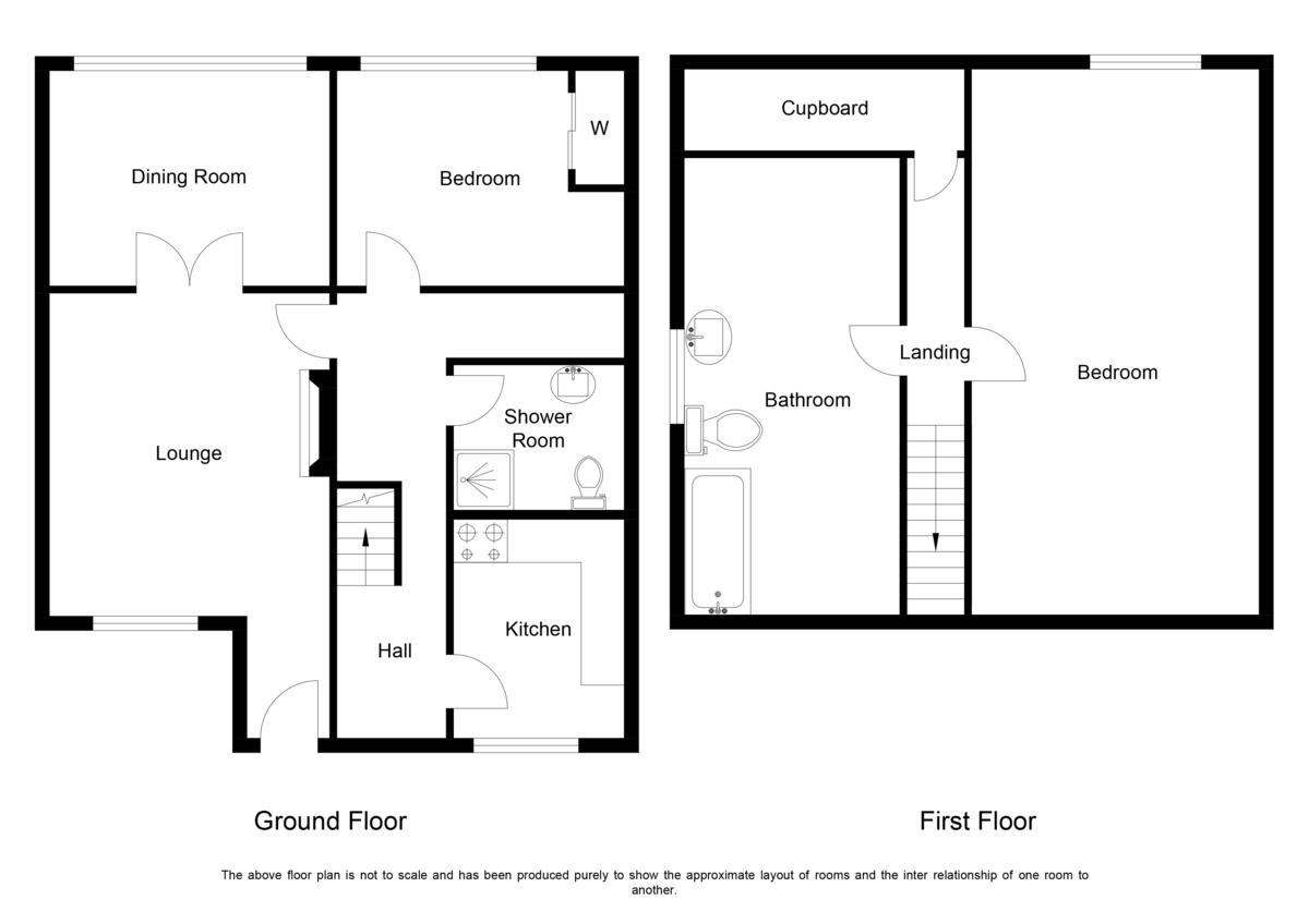 Stowe Croft, Lichfield Floorplan