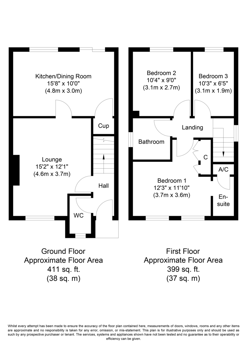 Poppy Gardens, Alrewas, DE13 7EY Floorplan