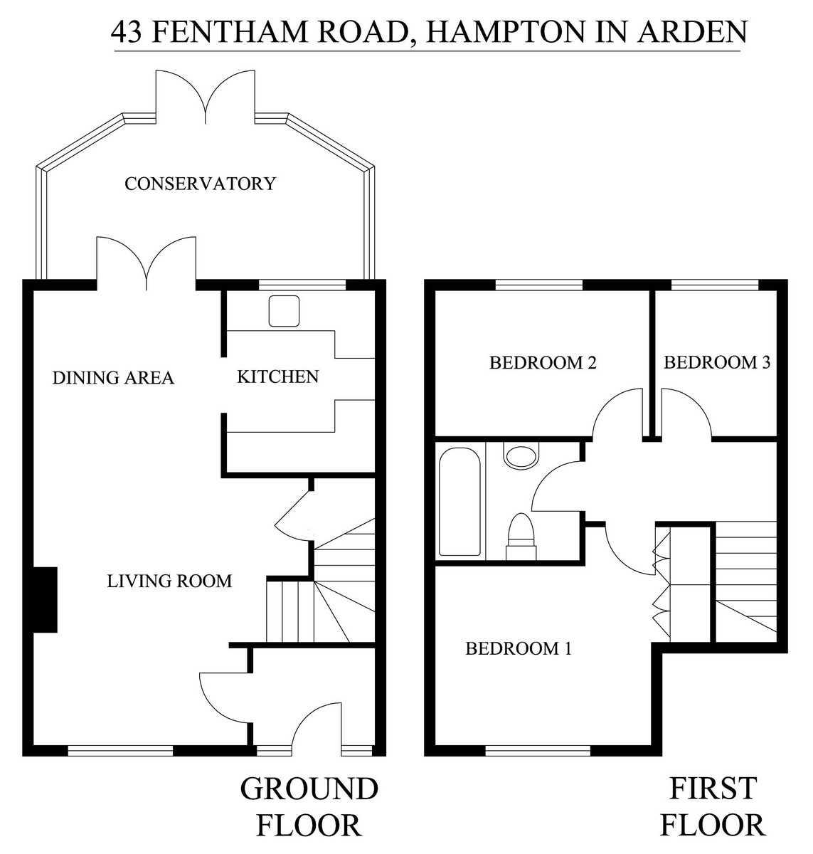 Fentham Road, Hampton in Arden, Solihull Floorplan