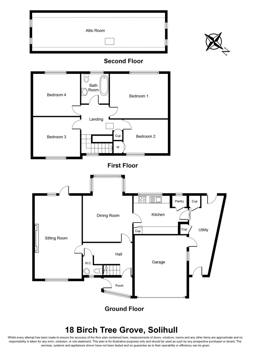 Birch Tree Grove, Solihull Floorplan