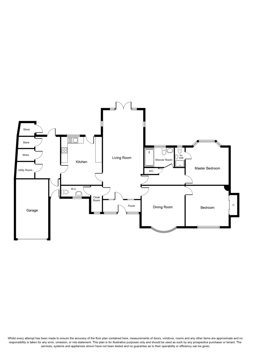 Warwick Road, Solihull Floorplan