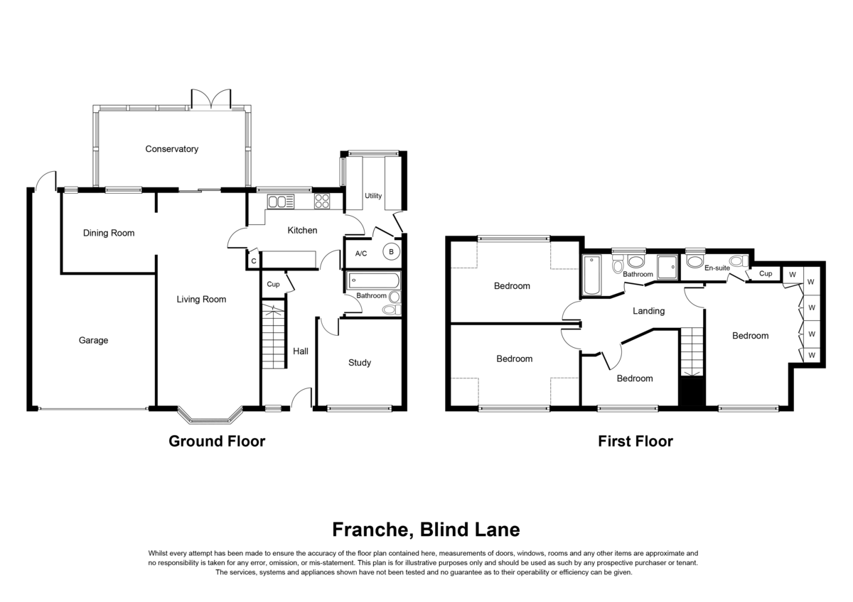 Blind Lane, Solihull Floorplan