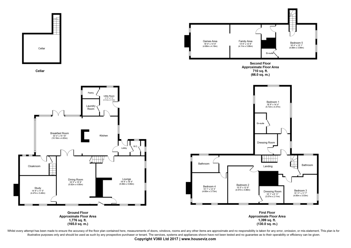 Bellamour Way, Colton Floorplan