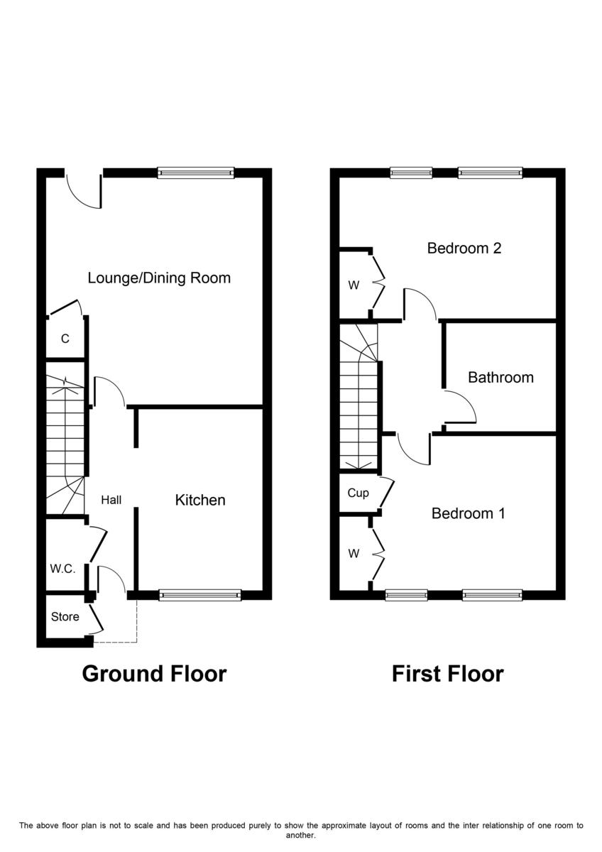 Ward Close, Fradley, Lichfield Floorplan
