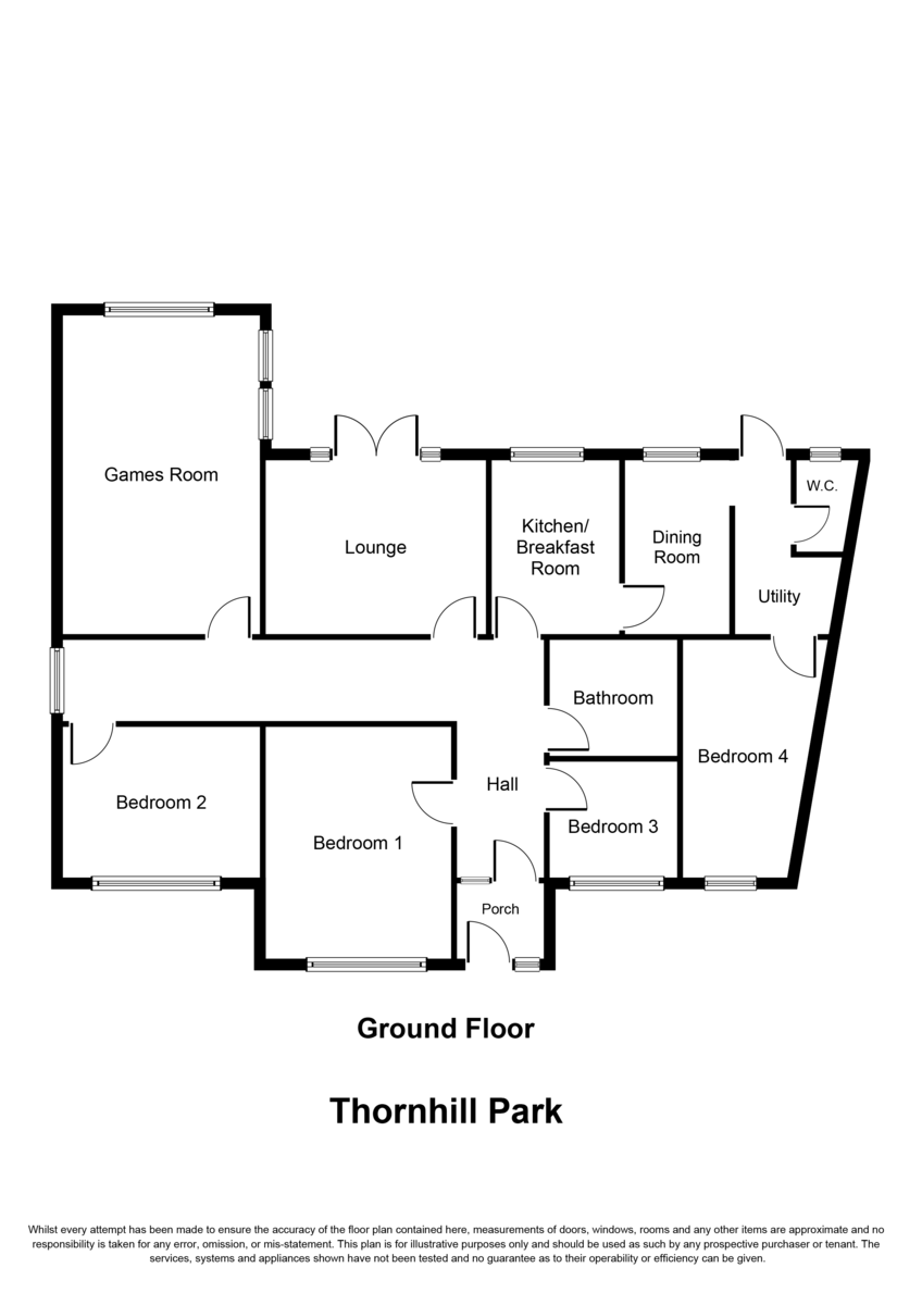 Thornhill Park, Streetly, Sutton Coldfield, B74 2LN Floorplan