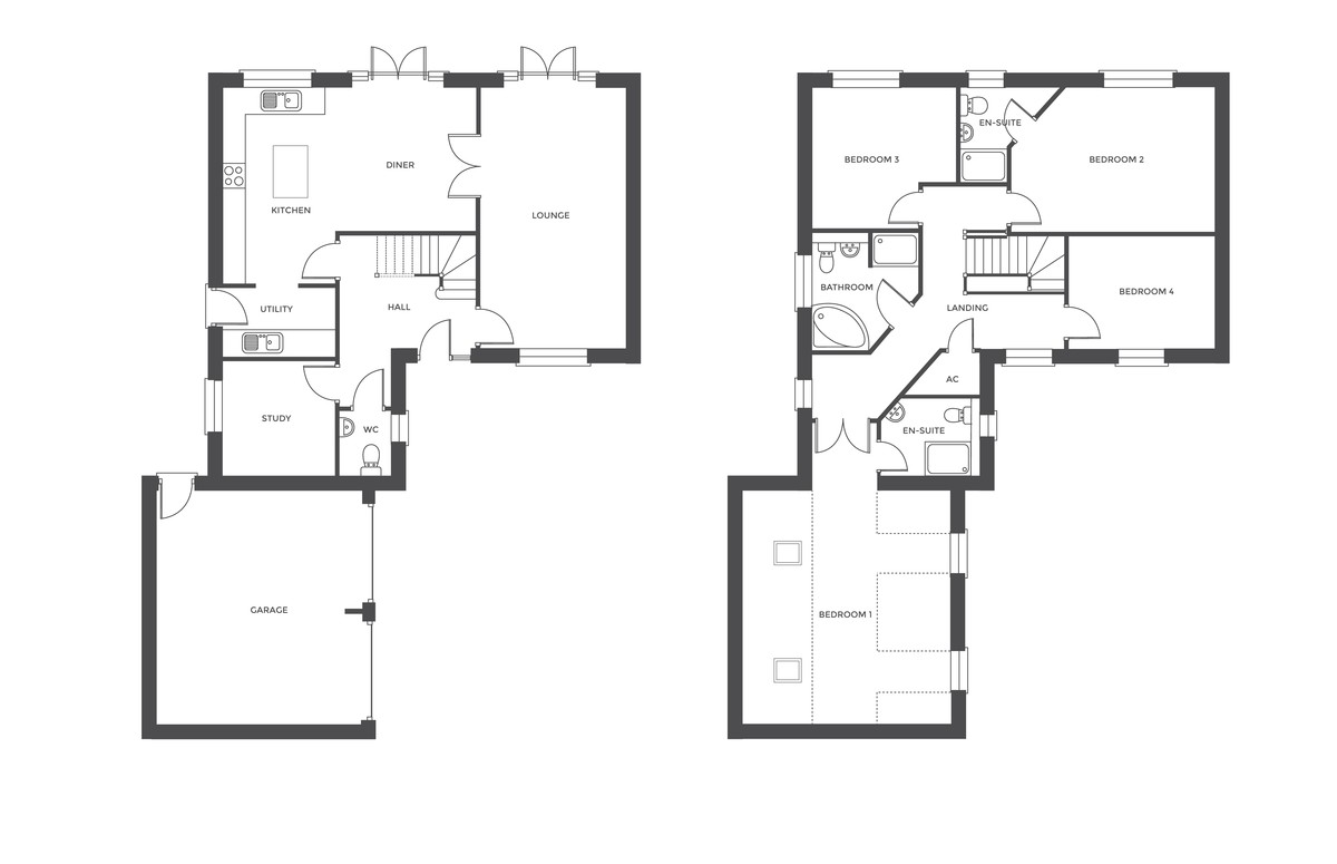 The Hamstall, Off Overwoods Road, Tamworth, B77 5NG Floorplan