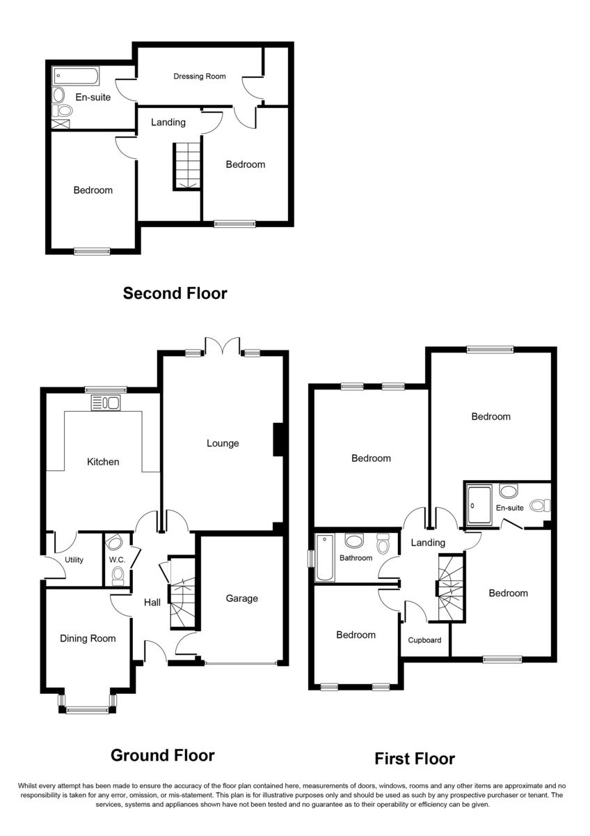 Anchorage Road, Sutton Coldfield, B74 2PJ Floorplan