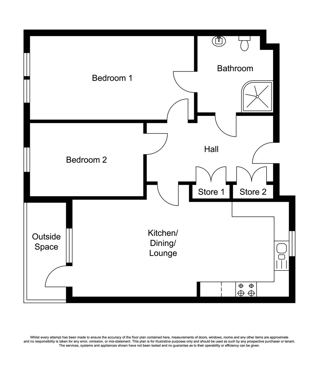 Trinity Apartments, Parkgate, Shirley, Solihull Floorplan