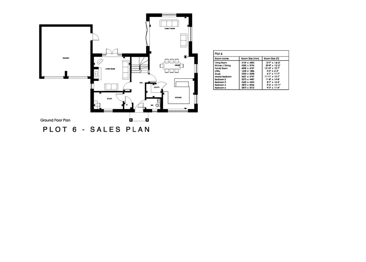 Plot 6, Ashwood, School Road, Hockley Heath Floorplan