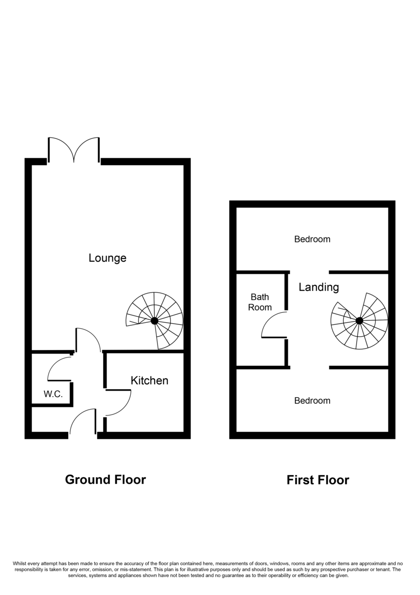 Bloomsbury Way, Lichfield Floorplan