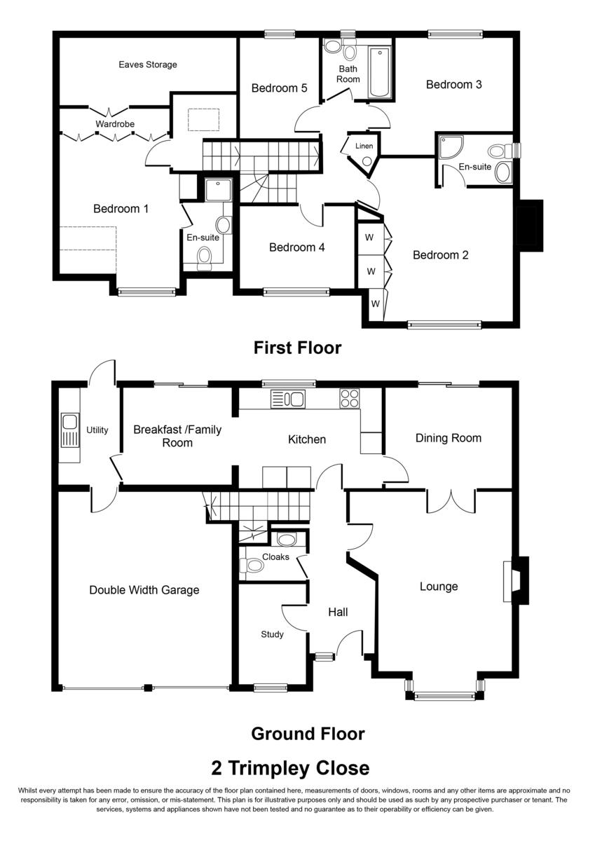 Trimpley Close, Dorridge Floorplan