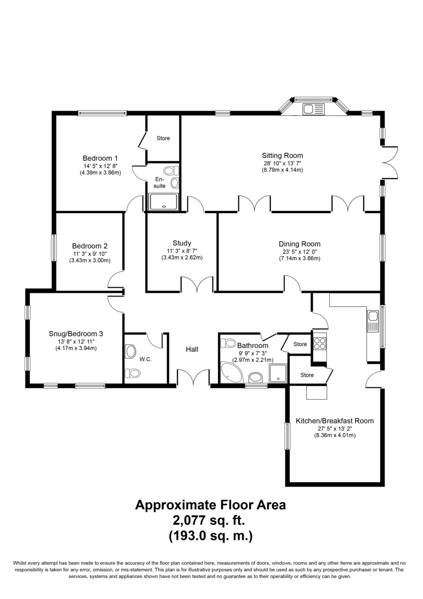 West Pines, Comberford, Nr. Tamworth, B79 9BA Floorplan