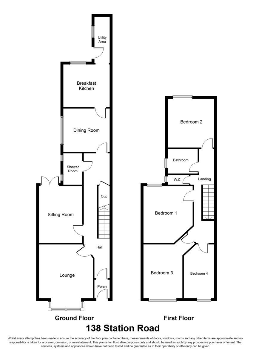 Station Road, Wylde Green, B73 5LD Floorplan