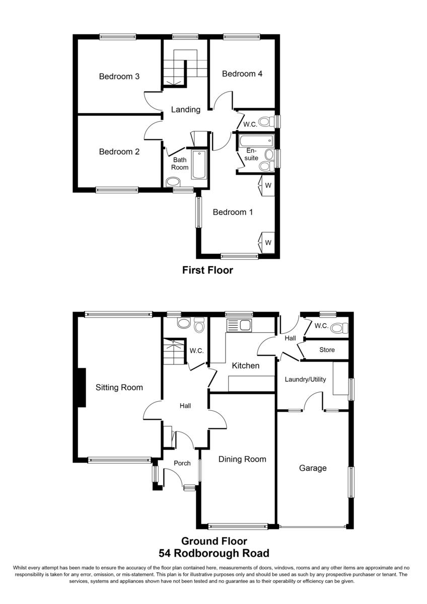 Rodborough Road, Dorridge, Solihull Floorplan