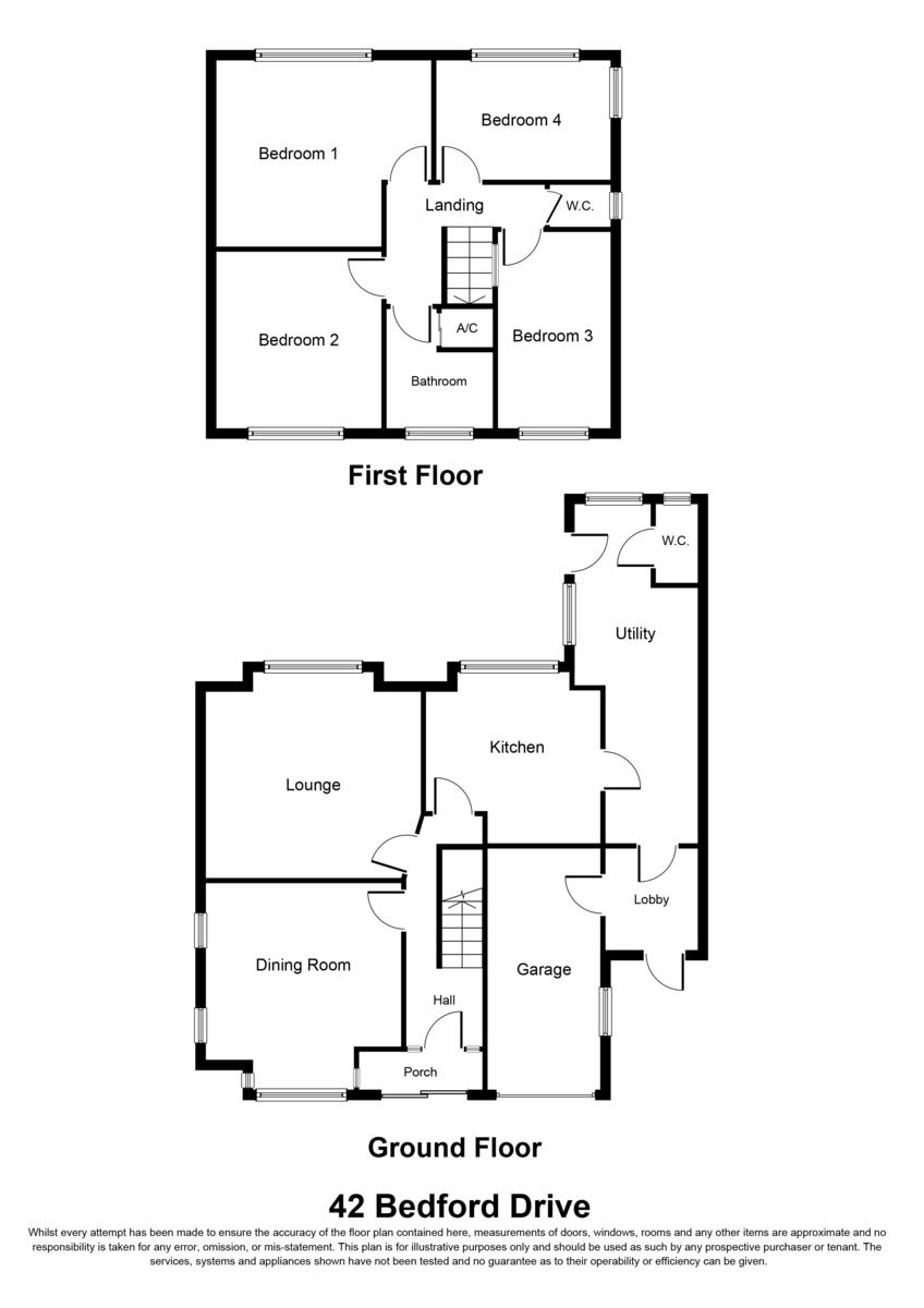 Bedford Drive, Sutton Coldfield, B75 6AU Floorplan