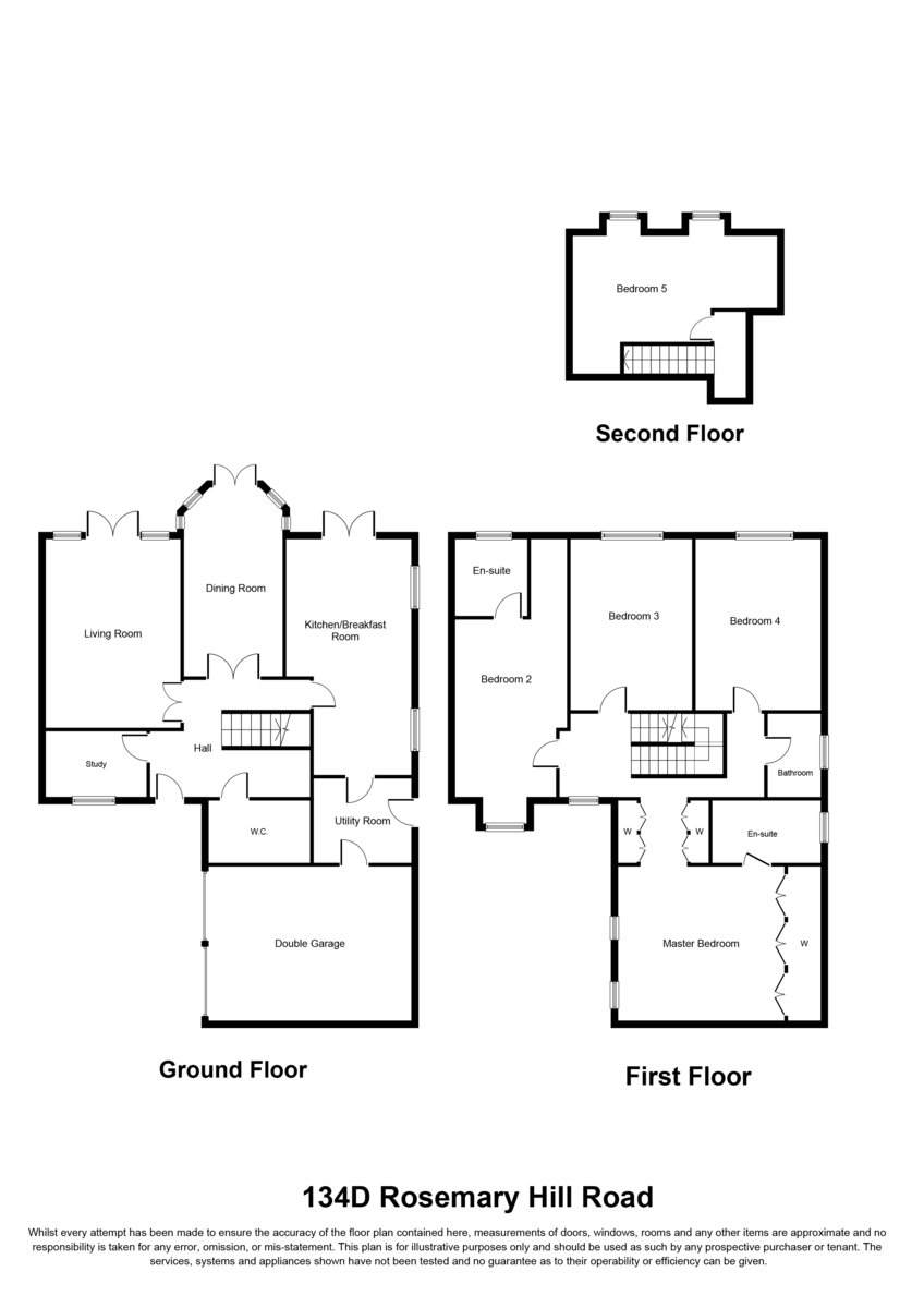 Rosemary Hill Road, Little Aston, B74 4HN Floorplan