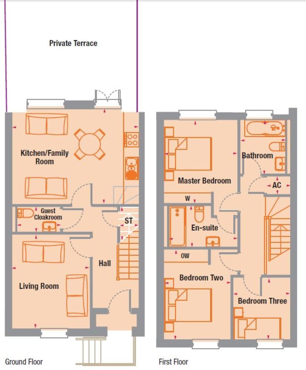 Abbotsbury Court, 68 Rumbush Lane, Dickens Heath Floorplan