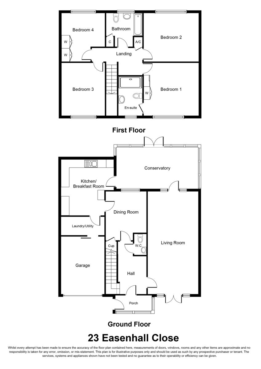 Easenhall Close, Knowle Floorplan