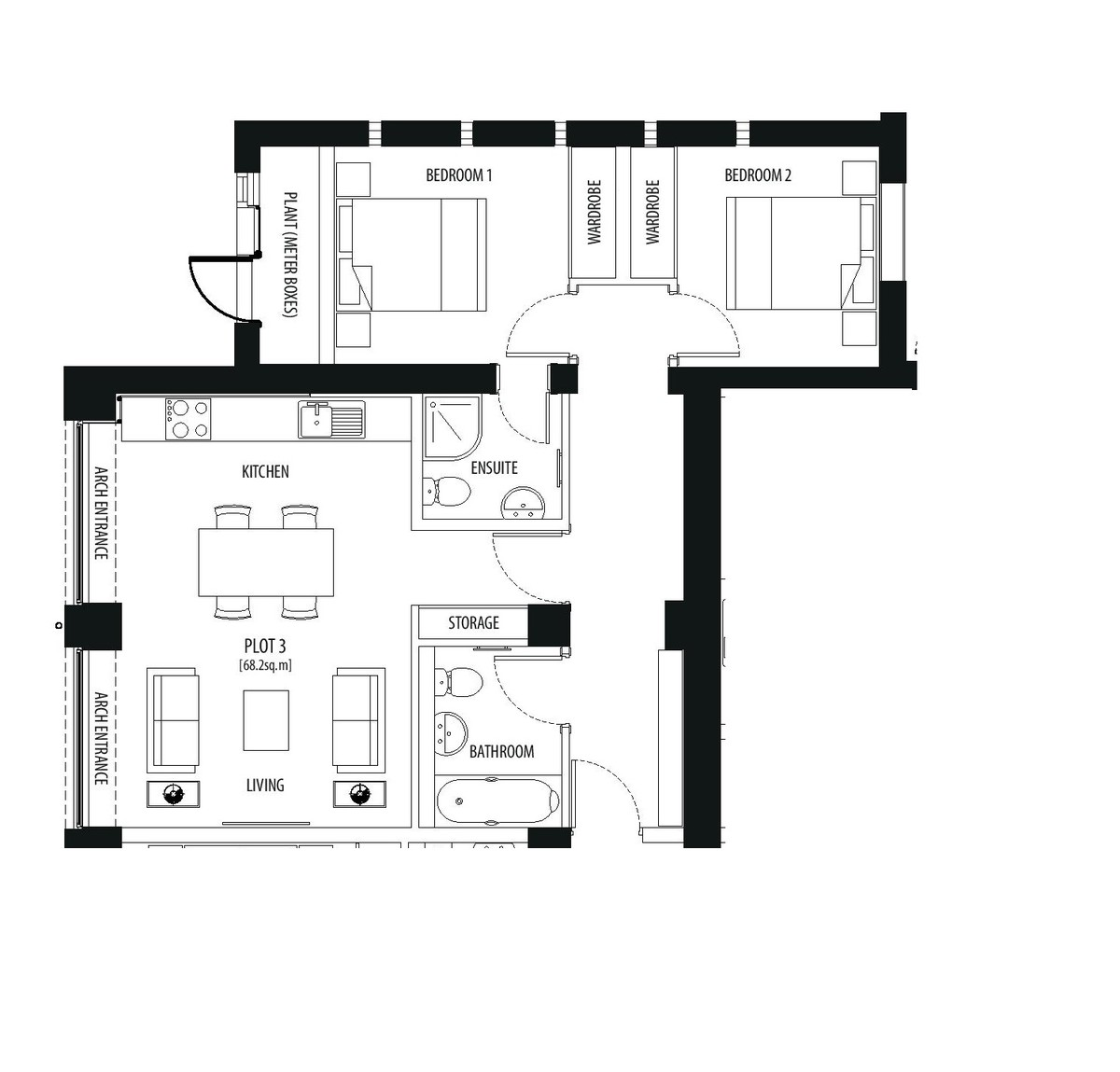 Coach House Mews, Beoley, Nr Ullenhall, B98 9ET Floorplan